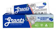 Grants of Australia Natural Kids Toothpaste Blueberry Blast