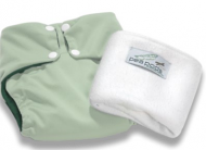 Pea Pods One Size Fits All Nappy - Pastel Green