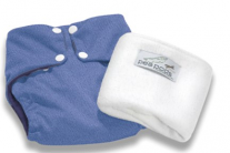 Pea Pods One Size Fits All Nappy - Denim