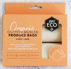 Ever Eco Organic Cotten Muslin Produce Bags