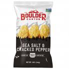 Boulder Canyon Kettle Cooked Potato Chips Sea Salt & Cracked Pepper