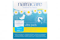 Natracare Organic Cotton Ultra Pads Super