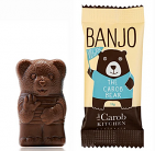 The Carob Kitchen Carob Bear Vegan Plain (Banjo Bear)