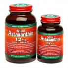MicrOrganics Green Nutritionals Natural Astaxanthin 12mg