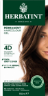 Herbatint Permanent Haircolour 4D Golden Chestnut