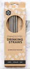 Ever Eco Stainless Steel Drinking Straws Straight 4 Pack