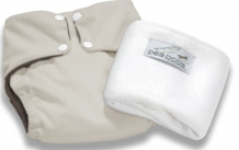 Pea Pods One Size Fits All Nappy - Cream