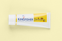 Kingfisher Natural Toothpaste Strawberry Fluoride Free