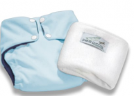 Pea Pods One Size Fits All Nappy - Pastel Blue