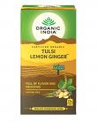 Organic India Certified Organic Tulsi Lemon Ginger Tea