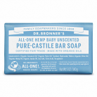 Dr Bronner's All-One Hemp Baby Unscented Pure-Castile Bar Soap