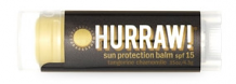 Hurraw! Sun Protection Lip Balm spf 15 Tangerine Chamomile