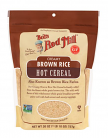 Bob's Red Mill Organic Creamy Brown Rice Hot Cereal Farina