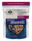 Brookfarm Natural Muesli Cranberry Macadamia