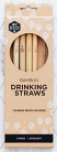Ever Eco Bamboo Drinking Straws Straight 4 Pack
