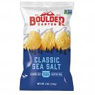 Boulder Canyon Kettle Cooked Potato Chips Classic Sea Salt
