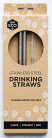 Ever Eco Stainless Steel Drinking Straws Bent 2 Pack