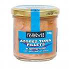 Fish 4 Ever Azores Tuna Fillets in Spring Water (Glass Jar)