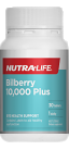 Nutra Life Bilberry 10,000 Plus