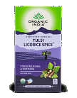 Organic India Certified Organic Tulsi Licorice Spice Tea