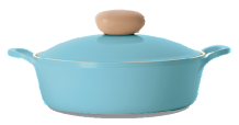 Neoflam Retro 22cm Casserole Pot Low