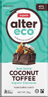 Alter Eco Dark Salted Coconut Toffee Organic Chocolate