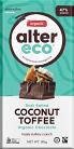 Alter Eco Dark Salted Coconut Toffee Organic Chocolate